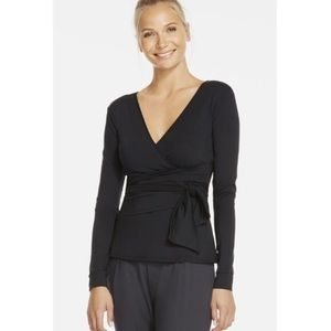 Fabletics Black Heather Top